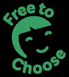 Free to choose logo -square