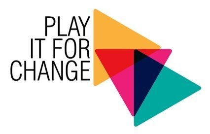EU project logos ('Play it for Change' and 'Circle of Change')