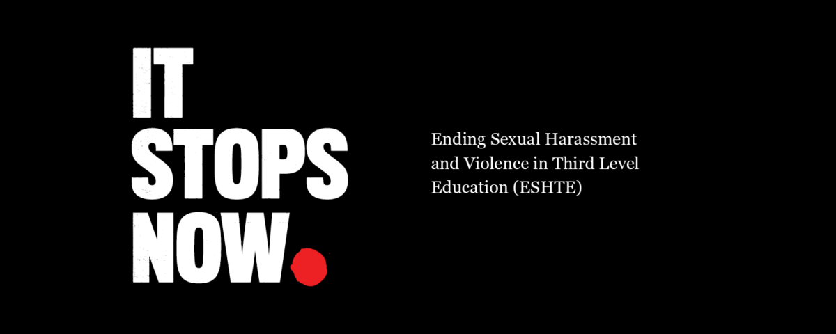 An 'It Stops Now' campaign poster