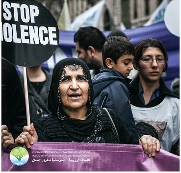 """""""Violence against women in the context of political transformations and economic crisis in the Euro-Mediterranean region; trends and recommendations towards equality and justice"""""""